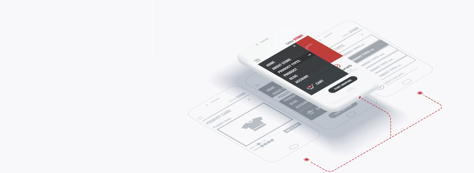 B2B/B2C/E-Commerce Application Development Banner